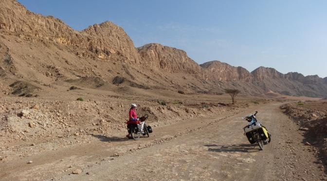 Terreur in de wadi (Oman april '14)