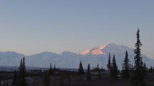 zonsopgang Mt. Denali