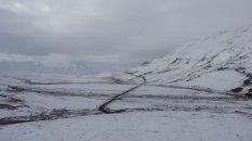 iets strenger winterweer in Denali