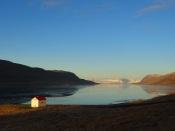 Eenzaam huis in de Westfjorden
