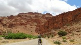 Begin van de Aït Mansour canyon