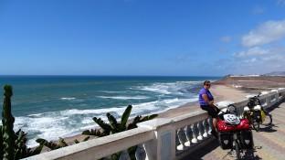 Atlantische kust bij Sidi Ifni