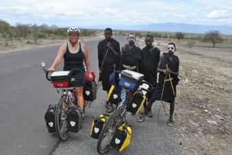 katrien en de Masai